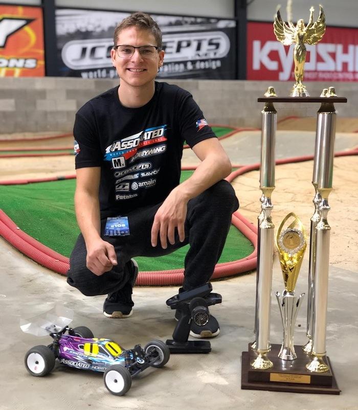Spencer Rivkin Associated 2WD World Champion 2019