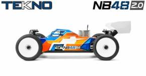 Tekno NB48 2.0 4WD Nitro Buggy in scala 1/8