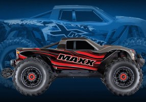Traxxas: Maxx - Monster Truck 4WD in scala 1/10