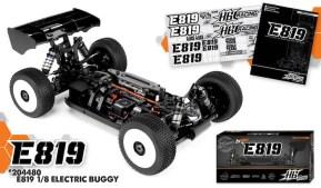 HB Racing E819: buggy da competizione elettrica 1/8