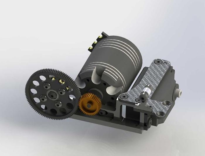 Mugen: MSE - Kit conversione trazione anteriore per MTC1