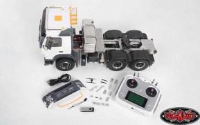 RC4WD: 6×6 Nashorn SEMI Truck (FMX)
