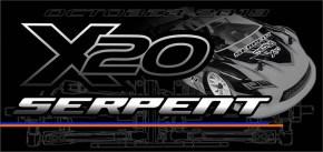 Serpent X20: nuova Touring Car Elettrica 4WD