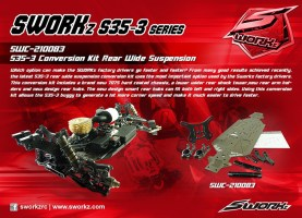 SWorkz S35-3 Kit di conversione Rear Wide Suspension - Electronic Dreams