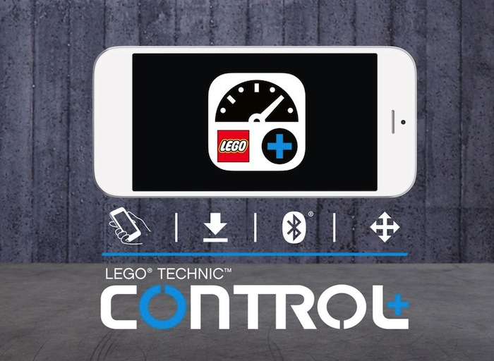 LEGO-Technic-Control-plus app