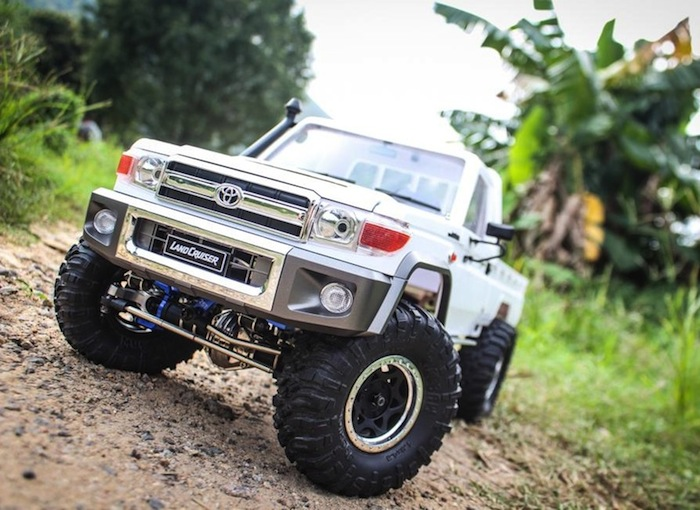 Video: Toyota Land Cruiser 70 della Killerbody