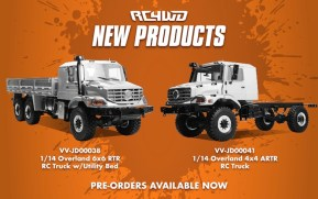 RC4WD: Overland 6×6 RTR RC Truck – Video