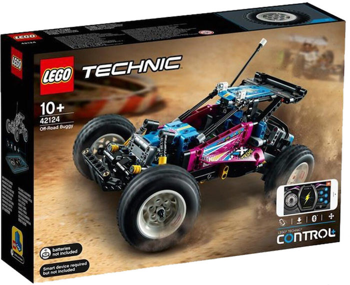 LEGO Technic- Off-Road Buggy con Control+ (set 42124) box