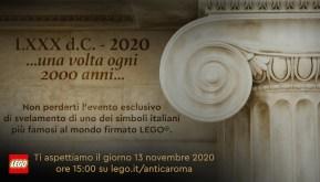 LEGO: Evento online il 13 Novembre!