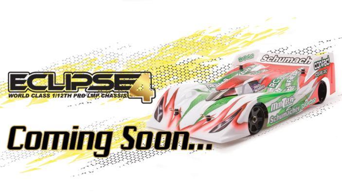 Schumacher: Eclipse 4 LMP12 - Racing car in scala 1/12