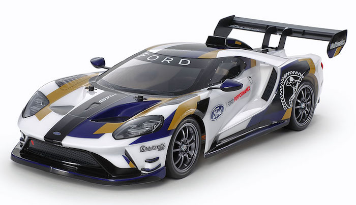 Tamiya: 1/10 R/C 2020 Ford GT Mk II (TT-02)- Video