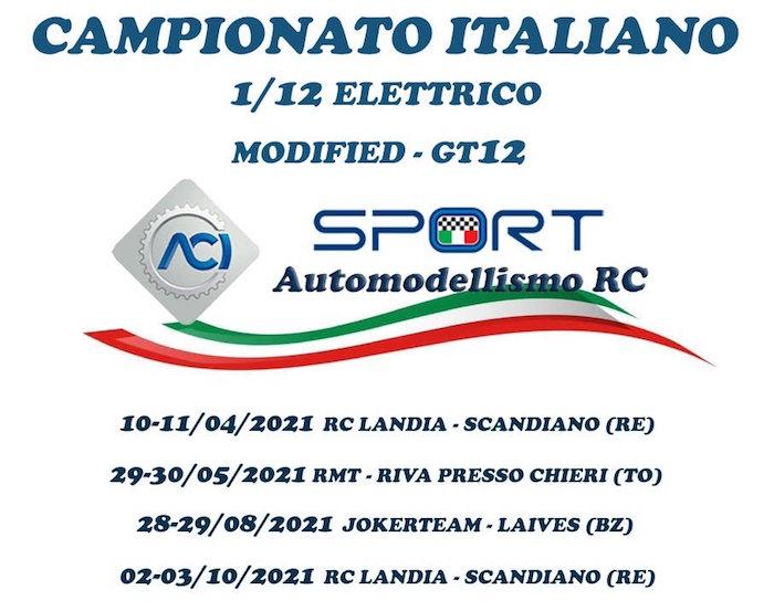 campionato italiano automodellismo elettrico ep 2021