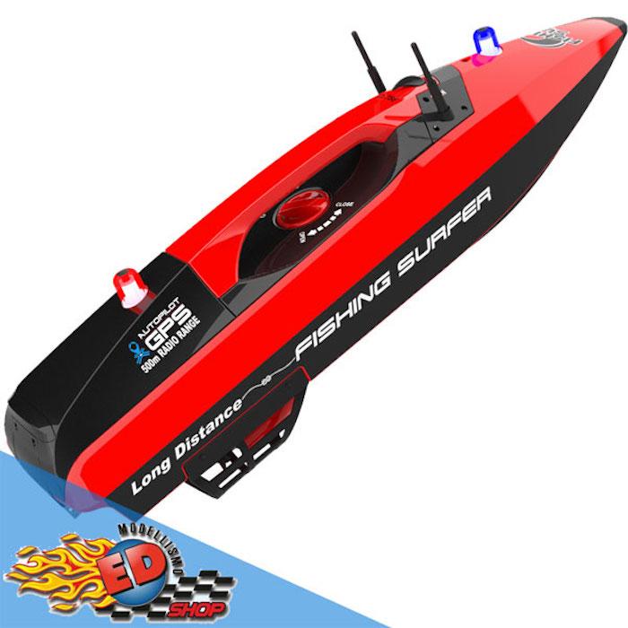 Barca radiocomandata per pesca e pasturazione con GPS!