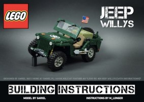 LEGO: 4×4 Jeep Willys con istruzioni da scaricare!