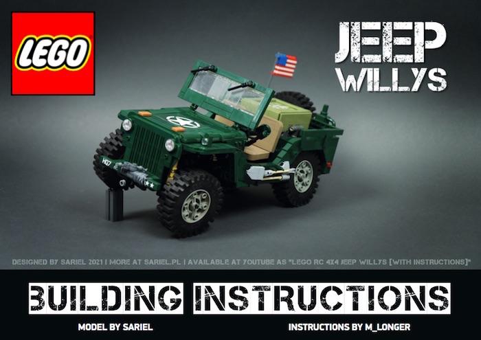 Jeep Willys sariel moc lego