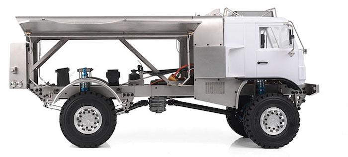 RC4WD- Rally Race Semi Truck side