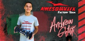 Andrea Ghilotti diventa un pilota ufficiale Awesomatix
