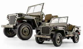 ROC HOBBY: 1941 Willys Militare in scala 1/12
