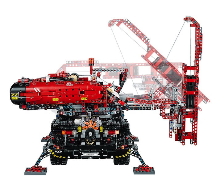 LEGO Technic: Rough Terrain Crane 42082