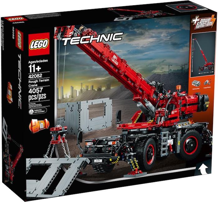 LEGO Technic: Rough Terrain Crane 42082