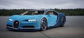 The Amazing Life-size (driveable) LEGO Bugatti Chiron!