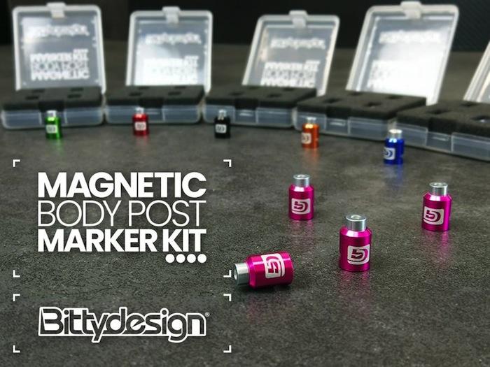 Bittydesign: Magnetic body post marker kit
