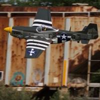 RC Airplane Hangar 9 P-51D Mustang 20cc ARF
