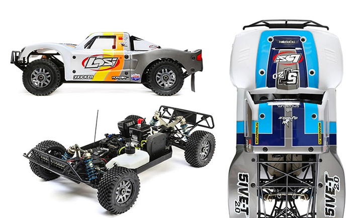 Losi 5IVE-T 2.0 - 1/5 scale 4WD Short course truck
