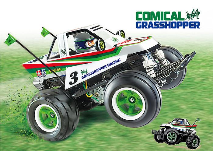Comical Grasshopper