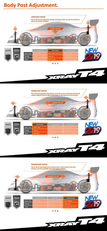 Xray T4 2019 electric touring car kit