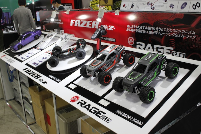 kyosho FAZER MK2 Tokyo hobby show 2018 display Rock Racer RAGE