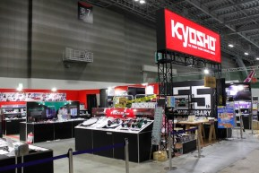 Kyosho booth at the Tokyo Hobby Show 2018