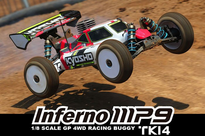Kyosho Inferno MP9 TKI4: 1/8 scale RTR buggy - Video