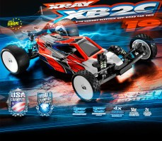 Xray XB2C 2019 competition 1/10 Scale 2wd Buggy
