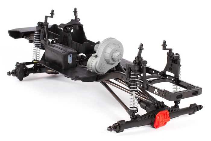 Axial: SCX10 Raw Builder's Kit