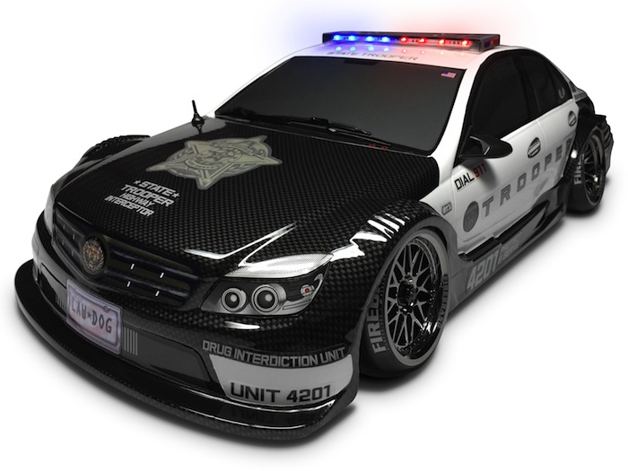 Firebrand RC: Trooper Kit low-profile LED police lights