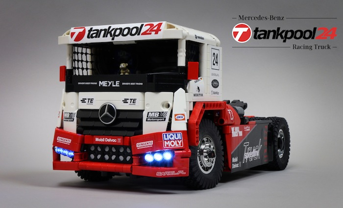 lego technic rc mercedes benz tankpool racing truck. Black Bedroom Furniture Sets. Home Design Ideas