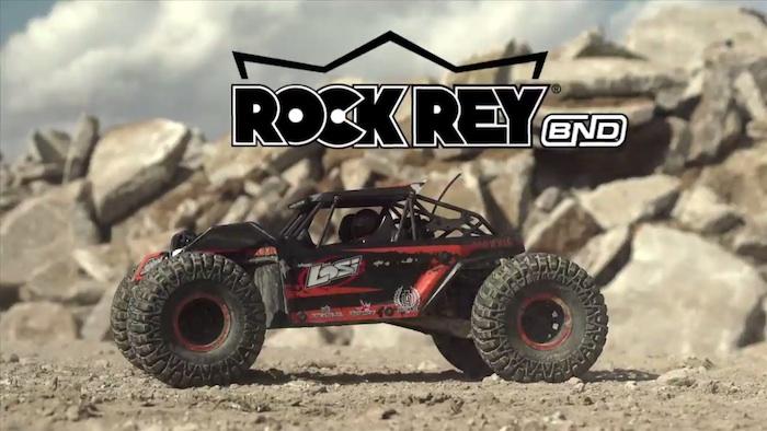 Losi- Bind-N-Drive Rock Rey 1 a 10 Rock Racer