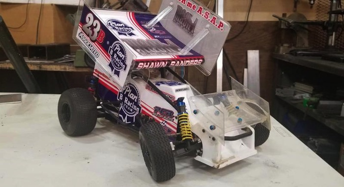 Plan B Racing Mach 1 sprint car builder kit