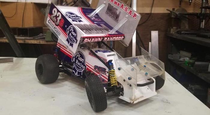 Plan B Racing Mach 1 sprint car builder kit