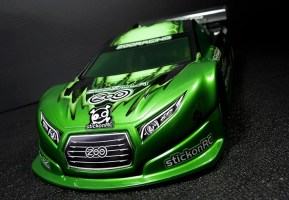 ZooRacing: ZooZilla 1/10th Touring Car Body 190mm