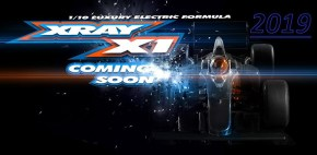 Xray X1 2019 Teaser - Formula One 1/10th Scale