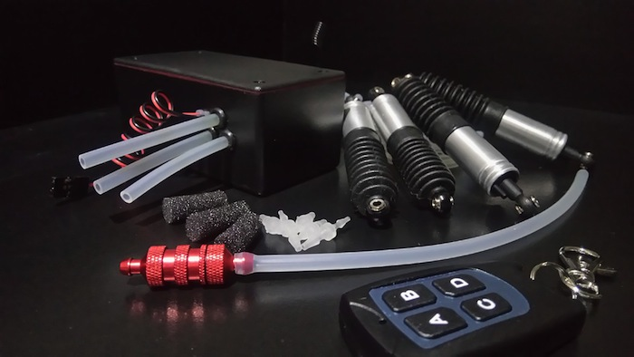 PRO AIR RC: Air ride suspension kit for your scale build - Hobbymedia