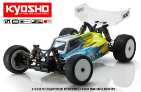 Kyosho Lazer ZX7 1/10th Scale EP 4WD Buggy KIT