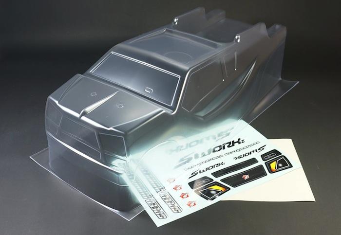 SWORKz Speed Rhinocero III body for the S35-T side
