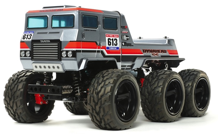 Tamiya Dynahead 6×6 G6-01TR World of Truck Trials