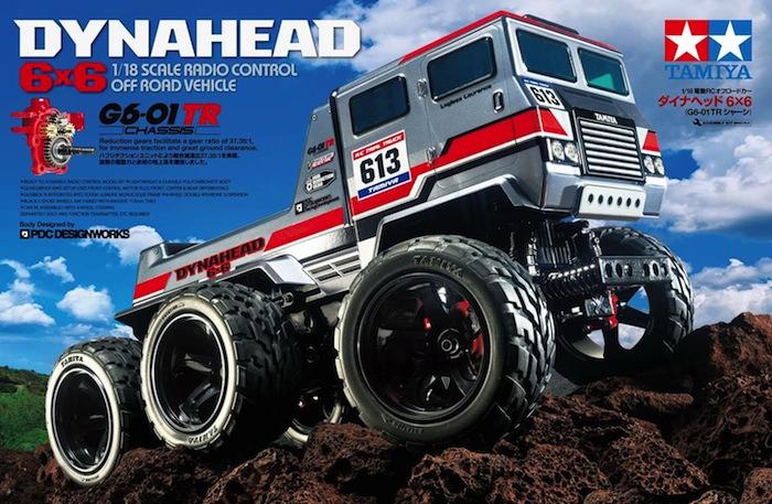 Tamiya Dynahead 6×6 G6-01TR World of Truck Trials