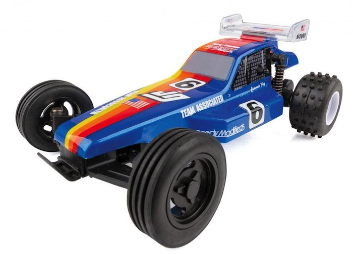 Team Associated: RC28 RTR buggy Jammin' Jay Halsey Replica