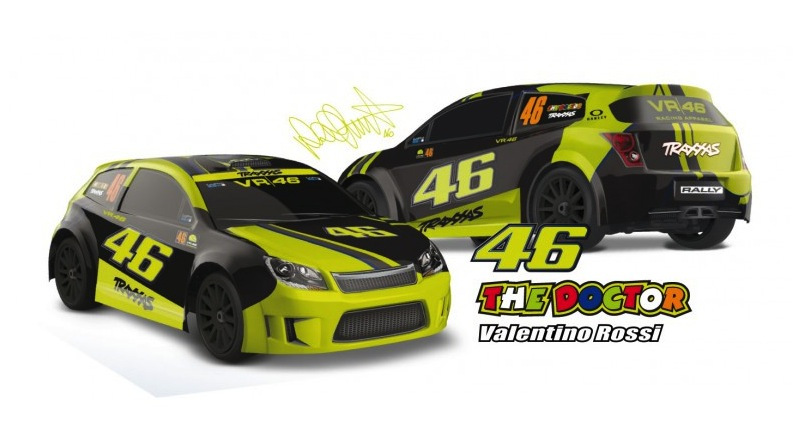 Traxxas VR46: Slash and Rally Valentino Rossi edition!