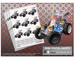 Paul Pike's RC illustrations decal sheets